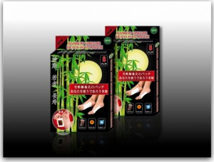 Пластырь для удаления токсинов Bamboo Vinegar Detox Foot Patch