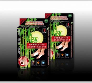 Пластырь для удаления токсинов Bamboo Vinegar Detox Foot Patch