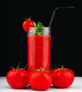 натуральный сок из помидор